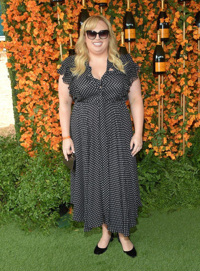 <p>For the annual Veuve Clicquot Polo Classic in Los Angeles on October 6, actress Rebel Wilson proved polka dots are back this season in an ankle-skimming dress and co-ordinating accessories. <em>[Photo: Getty]</em> </p>