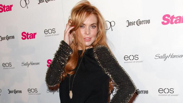 Lindsay Lohan Works Through 26th Birthday