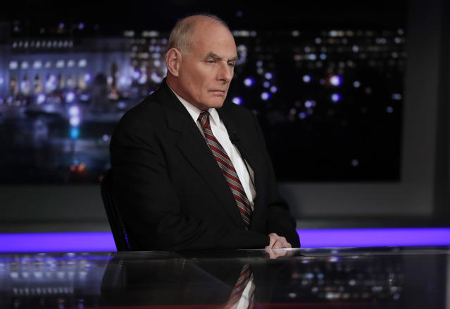 White House chief of staff John Kelly. (Photo: Carolyn Kaster/AP)