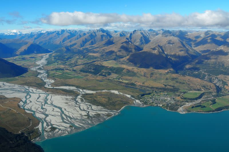 FILE PHOTO: The town of Glenorchy on Lake Wakatipu and Otago river New Zealand