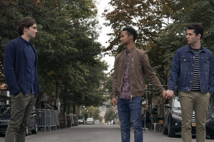 Zane Paris, Marquis Rodriguez, James Scully in Season 2 of