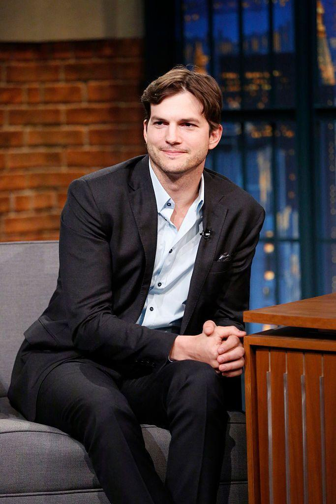 <p>He was born Christopher Ashton Kutcher. First names really are such a bore.</p>