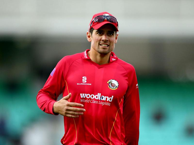 Alastair Cook continues prolific start to season as James Anderson suffers injury scare