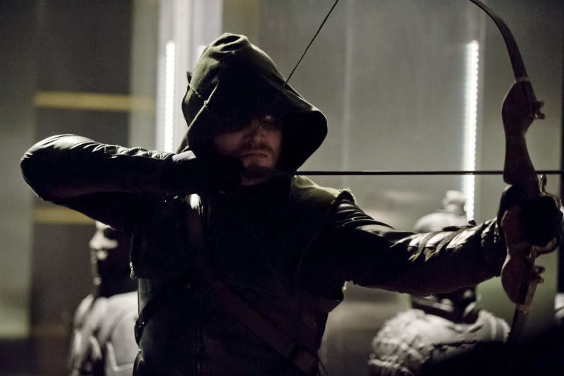 """Darkness on the Edge of Town"" -- Stephen Amell as The Arrow"