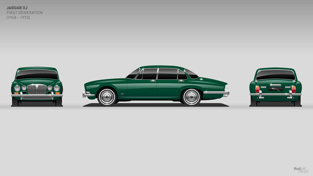 "<p>The first generation of the XJ is known as Series 1. It borrowed heavily from Jaguar's existing lineup. It offered two straight-six engines before offering a V12 in 1972. Top speed for the V12 was around 140 miles per hour. That same year, Jaguar offered a long-wheelbase version that added four inches of legroom for rear-seat passengers. </p><h2>More automotive history lessons:</h2><ul><li><a rel=""nofollow"" href=""https://uk.motor1.com/features/275033/mercedes-sl-six-generations-evolution/?utm_campaign=yahoo-feed"">See the timeless Mercedes SL evolve through six generations</a></li><br><li><a rel=""nofollow"" href=""https://uk.motor1.com/news/268648/honda-civic-10-generations-history/?utm_campaign=yahoo-feed"">10-generations of Civic is a brilliant Honda history lesson</a></li><br></ul>"