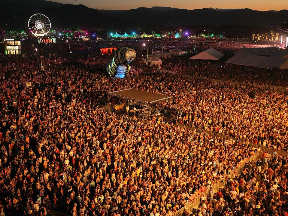 <p> Live Nation CEO says large-scale US concerts could 'start in midsummer'</p> (Getty Images)