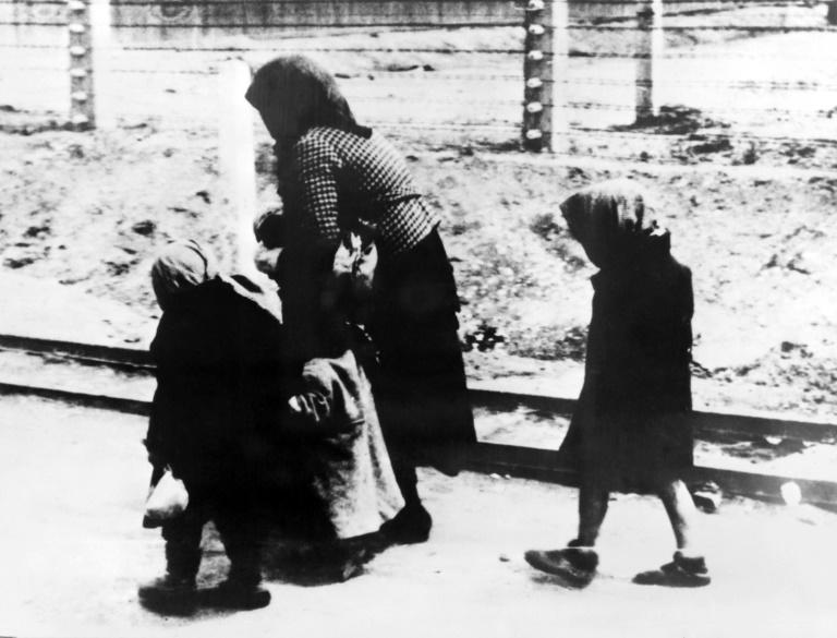 Three arrivals at Auschwitz: while the Nazis also persecuted other minorities, the Final Solution specifically targetted Jews