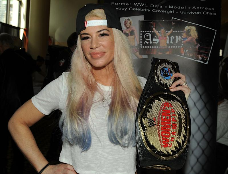 Ashley Massaro reportedly wanted her brain examined for traces of CTE. (Getty)