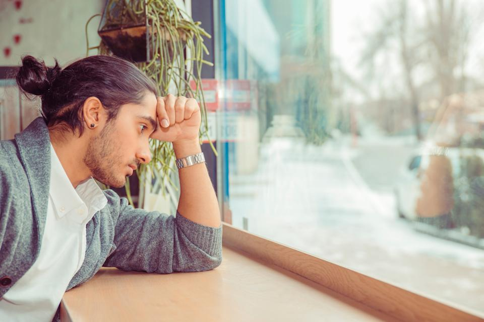 Could telling a man to 'man up' impact their mental health? [Photo: Getty]