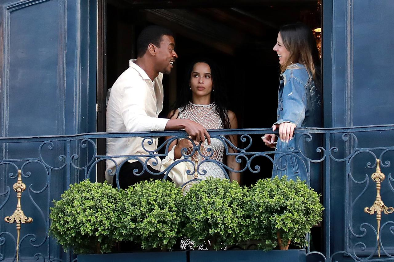 Zoe Kravitz Is Joined By Her Parents And Big Little Lies