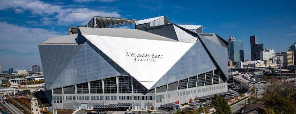 """Kanye West has been living in Mercedes-Benz Stadium since July 22, working on his new album, """"Donda."""""""