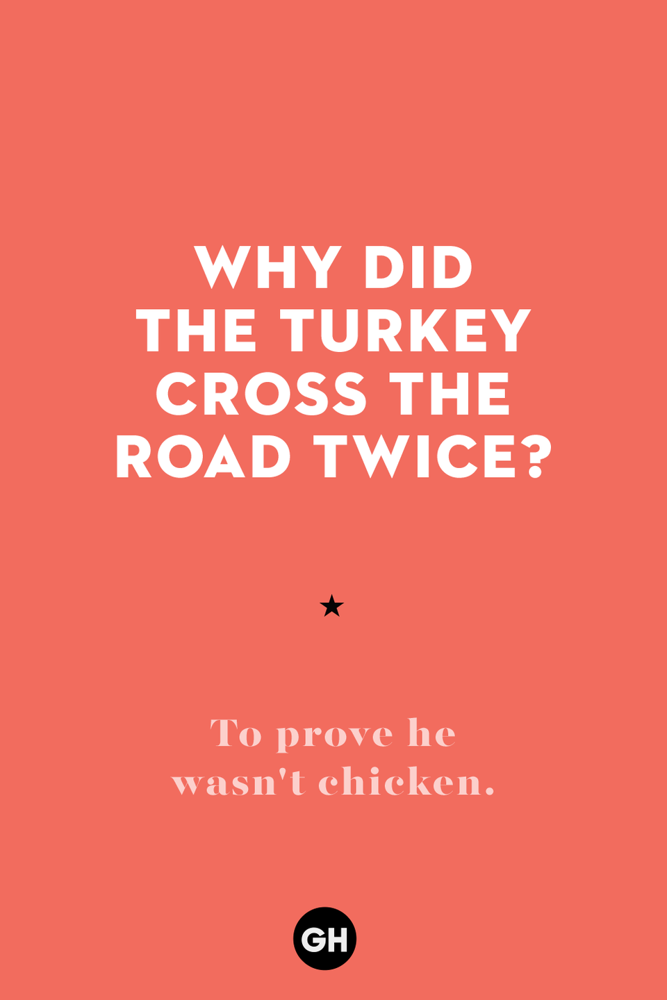 <p>To prove he wasn't chicken.<br></p>