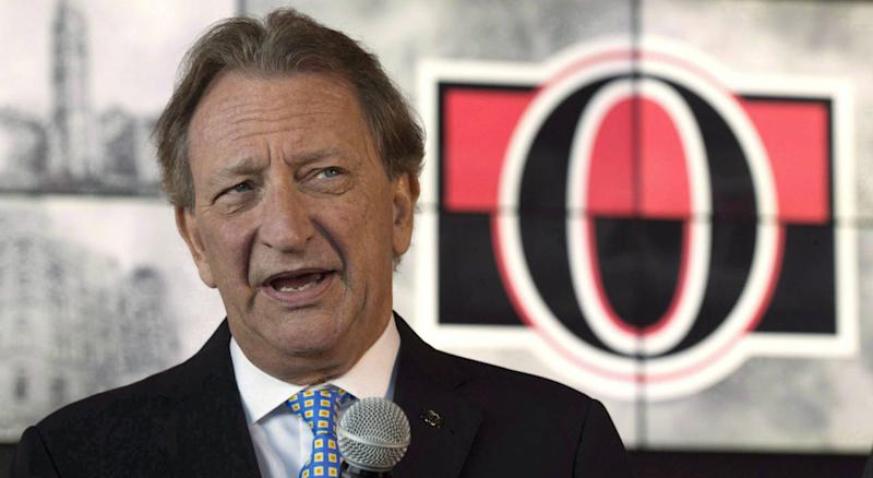 Jim Little didn't last very long working under Eugene Melnyk. (Getty)