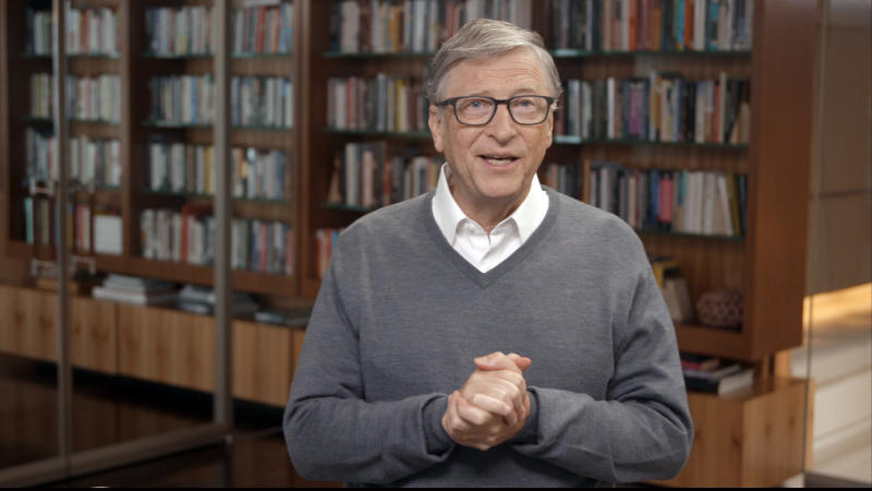 UNSPECIFIED - JUNE 24: In this screengrab, Bill Gates speaks during All In WA: A Concert For COVID-19 Relief on June 24, 2020 in Washington. (Photo by Getty Images/Getty Images for All In WA)