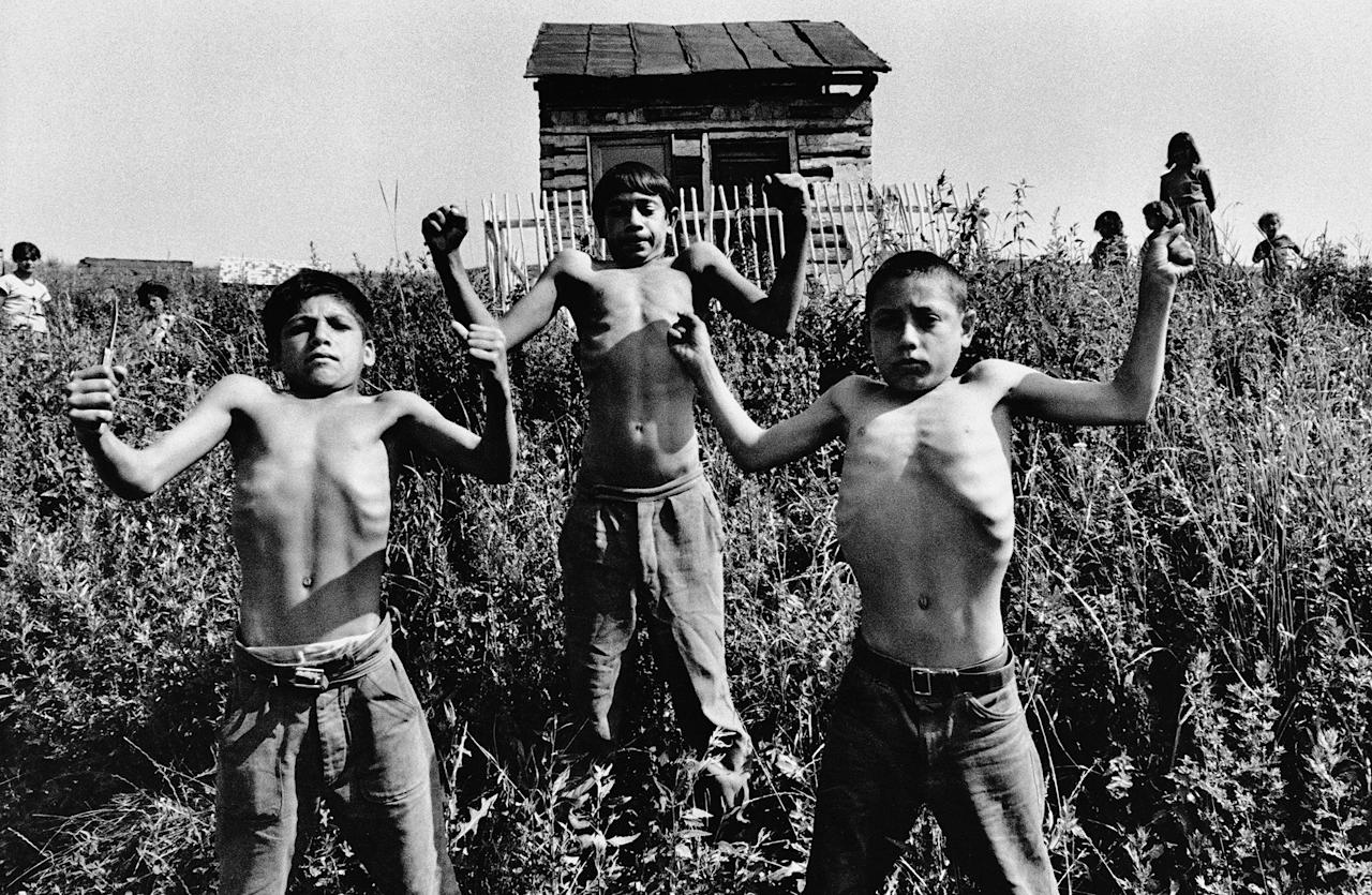 <p>Gypsies in Zehra, Slovakia, Czechoslovakia,1967. (© Josef Koudelka/Magnum Photos) </p>