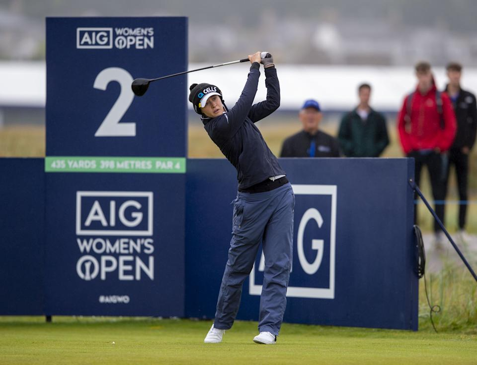 Olympic and PGA champion Nelly Korda made a solid start to her Women's Open bid at the Carnoustie