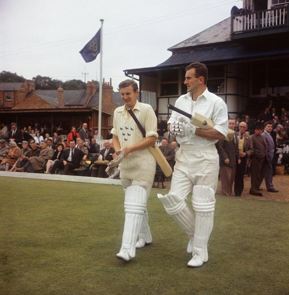 Former England and Sussex captain Ted Dexter (right) has died at the age of 86 (PA Archive) (PA Archive)
