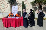 FILE PHOTO: Rival factions agree on procedures for Palestinian elections