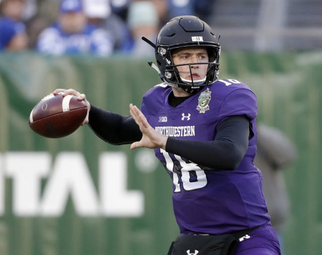 Northwestern is an NCAA 14 juggernaut, apparently. (AP Photo/Mark Humphrey)