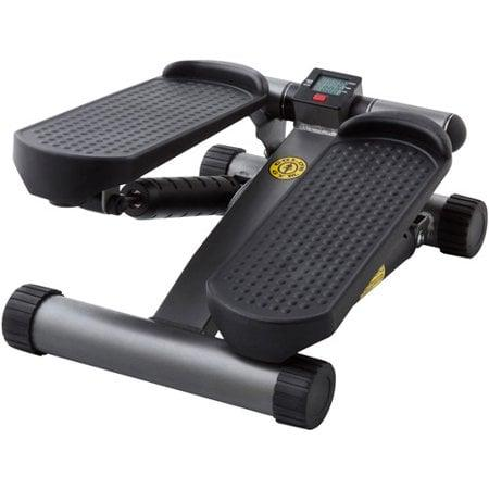 "<p>For the days I feel like skipping the bike, I like to use this <a href=""https://www.popsugar.com/buy/Gold-Gym-Mini-Stepper-Monitor-409365?p_name=Gold%27s%20Gym%20Mini%20Stepper%20With%20Monitor&retailer=walmart.com&pid=409365&price=45&evar1=fit%3Aus&evar9=46268089&evar98=https%3A%2F%2Fwww.popsugar.com%2Ffitness%2Fphoto-gallery%2F46268089%2Fimage%2F46268090%2FGold-Gym-Mini-Stepper-Monitor&prop13=mobile&pdata=1"" rel=""nofollow"" data-shoppable-link=""1"" target=""_blank"" class=""ga-track"" data-ga-category=""Related"" data-ga-label=""https://www.walmart.com/ip/Gold-s-Gym-Mini-Stepper-with-Monitor/28132535"" data-ga-action=""In-Line Links"">Gold's Gym Mini Stepper With Monitor</a> ($45). Its small size is easy to store away when I'm not using it.</p>"
