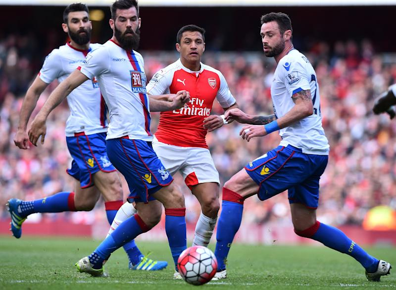 Alexis Sánchez. Arsenal-Crystal Palace. 17.04.2016
