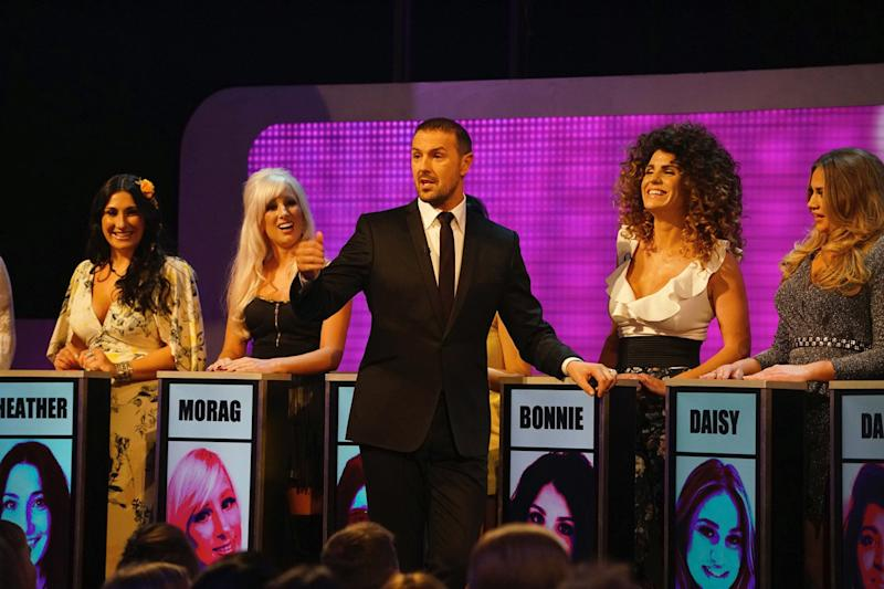 No likey, no lighty: Take Me Out matchmaker Paddy McGuinness: ITV / Thames / Fremantle