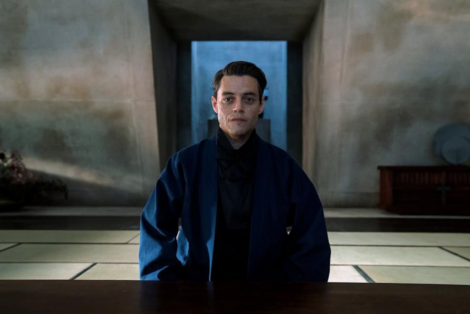 Rami Malek in a still from No Time To Die. (Eon/Universal)