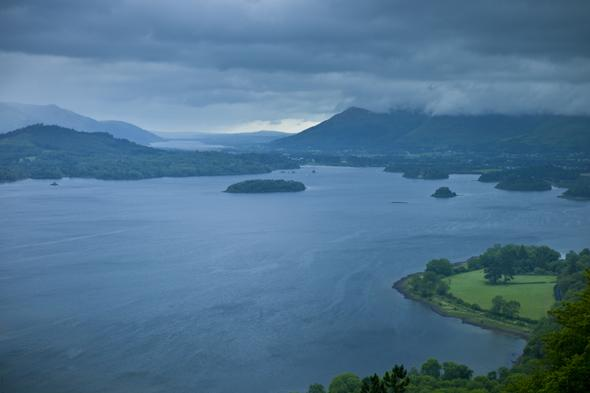 Derwent Water lake, cumbria to see a month's rain in one night, met office says