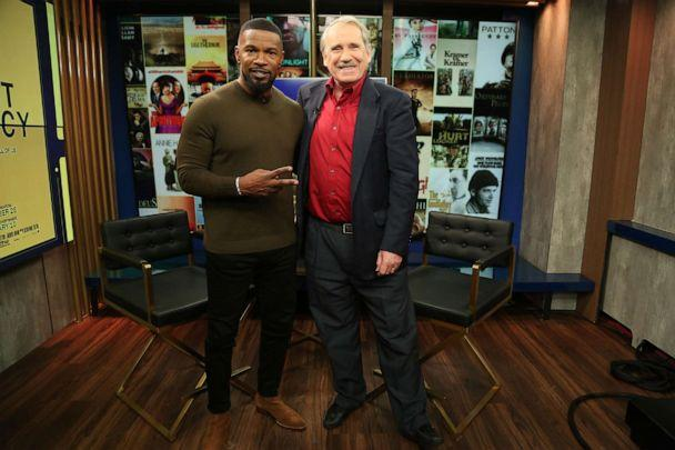 PHOTO: Jamie Foxx appears on 'Popcorn with Peter Travers' at ABC News studios, Dec. 17, 2019, in New York City. (Jeff Swartz/ABC News)