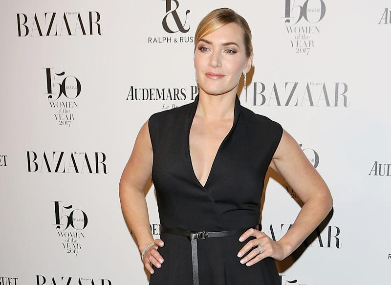 LONDON, ENGLAND - NOVEMBER 02: Kate Winslet attends Harper's Bazaar Women of the Year Awards in association with Ralph & Russo, Audemars Piguet and Mercedes-Benz at Claridge's Hotel on November 2, 2017 in London, England. (Photo by David M. Benett/Dave Benett/Getty Images for Harper's Bazaar )