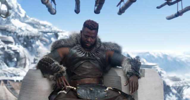 Winston Duke as M'Baku. Photo: Marvel Studios