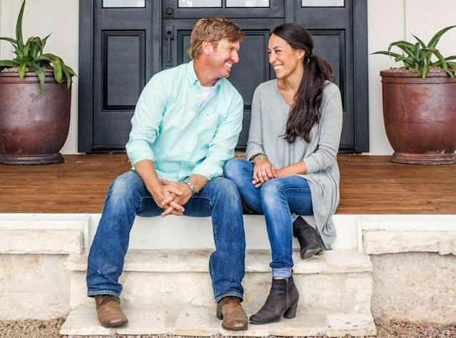 Chip and Joanna Gaines have settled with the EPA over lead paint. (Photo: HGTV)