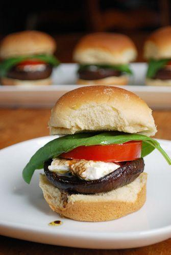 """<p>Even meatless, sliders are always winners.</p><p>Get the recipe from <a href=""""http://familyspice.com/recipes/recipe/?recipe_id=219"""" rel=""""nofollow noopener"""" target=""""_blank"""" data-ylk=""""slk:Family Spice"""" class=""""link rapid-noclick-resp"""">Family Spice</a>.</p>"""