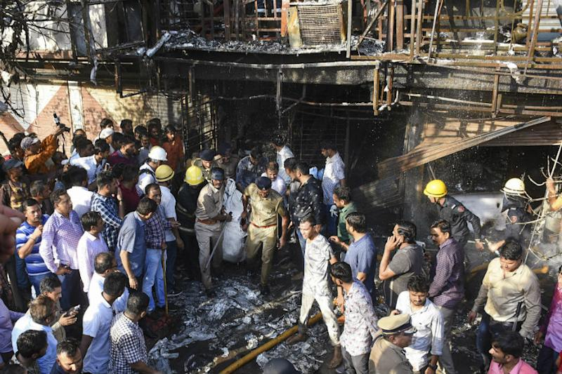 Surat Fire Case Handed Over to Crime Branch, 1 Coaching Class Operator Arrested