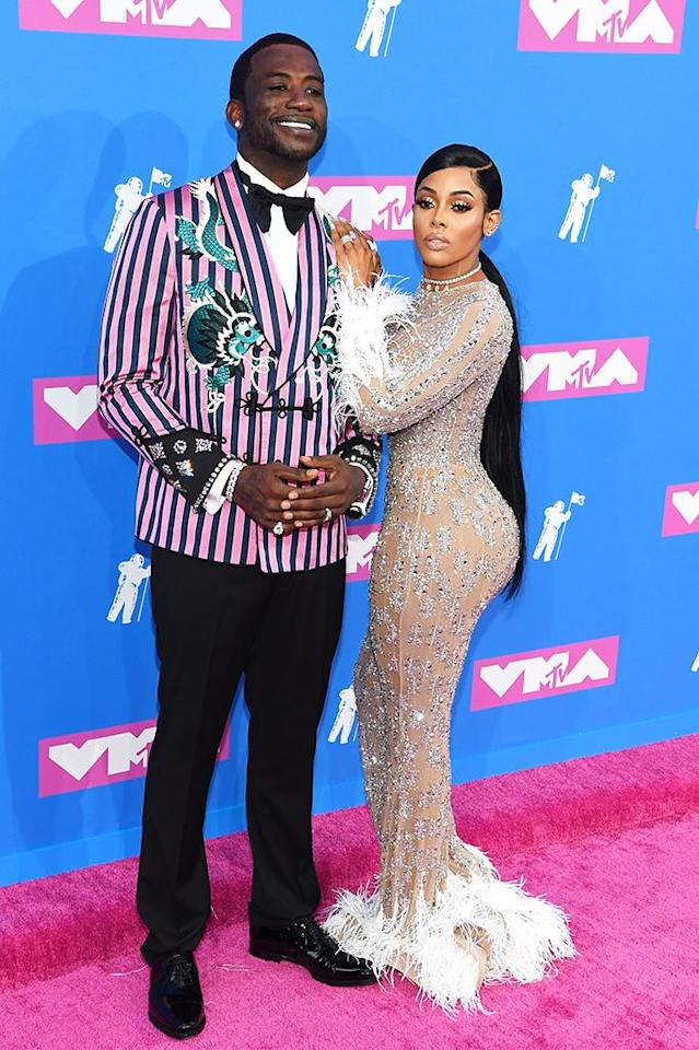 <p>Gucci Mane and Keyshia Ka'Oir attend the 2018 MTV Video Music Awards at Radio City Music Hall on August 20, 2018 in New York City. (Photo: Nicholas Hunt/Getty Images for MTV) </p>