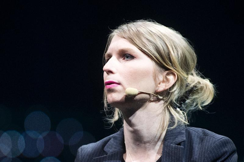 Chelsea Manning was jailed in early March for refusing to testify in a grand jury investigation targeting the anti-secrecy group WikiLeaks (AFP Photo/Lars Hagberg)