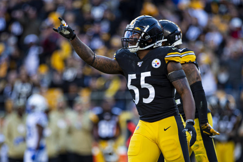 Pittsburgh Steelers linebacker Devin Bush has helped get his team back in the playoff race. (Photo by Mark Alberti/Icon Sportswire via Getty Images)