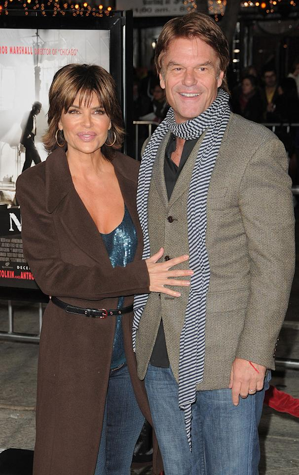 "<a href=""http://movies.yahoo.com/movie/contributor/1800044229"">Lisa Rinna</a> and <a href=""http://movies.yahoo.com/movie/contributor/1800039057"">Harry Hamlin</a> at the Los Angeles premiere of <a href=""http://movies.yahoo.com/movie/1810053986/info"">Nine</a> - 12/09/2009"