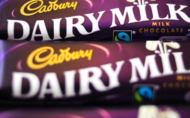 Cadbury's Dairy Milk - Credit: Bloomberg
