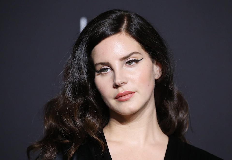 LOS ANGELES, CALIFORNIA - NOVEMBER 03: Lana Del Rey attends the 2018 LACMA Art + Film Gala held at LACMA on November 03, 2018 in Los Angeles, California. (Photo by Michael Tran/FilmMagic)
