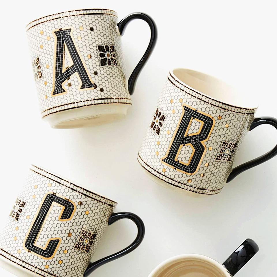 """<p><strong>Anthropologie</strong></p><p>anthropologie.com</p><p><strong>$12.00</strong></p><p><a href=""""https://go.redirectingat.com?id=74968X1596630&url=https%3A%2F%2Fwww.anthropologie.com%2Fshop%2Ftiled-margot-monogram-mug&sref=http%3A%2F%2Fwww.bestproducts.com%2Fhome%2Fg121%2Fbest-gifts-for-friends%2F"""" target=""""_blank"""">Shop Now</a></p><p>Upgrade your work wife's coffee cup with this chic, but unbelievably <em>cheap</em> mug from Anthropologie. Its <a href=""""https://www.realsimple.com/home-organizing/decorating/decorating-tips-techniques/penny-tile-ideas"""" target=""""_blank"""">penny-tile pattern</a> frames her first initial in the most effortlessly stylish way.</p><p><strong>More:</strong> <a href=""""https://www.bestproducts.com/beauty/g154/top-gifts-for-her/"""" target=""""_blank"""">When You're All Out of Ideas, These Are the Gifts for Her That Are Sure to Impress</a></p>"""