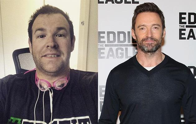Gus Worland (L) and Hugh Jackman (R). Photos: Instagram and Getty Images.
