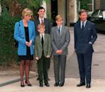 Despite Prince Charles attending Gordonstoun, the same secondary school his father was educated at, Prince William enrolled at Eton College in Windsor. <em>[Photo: PA]</em>