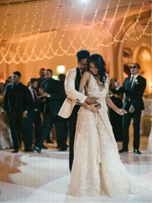 6184ee42dc30 15 Most Breathtaking Celebrity Wedding Dresses of 2018