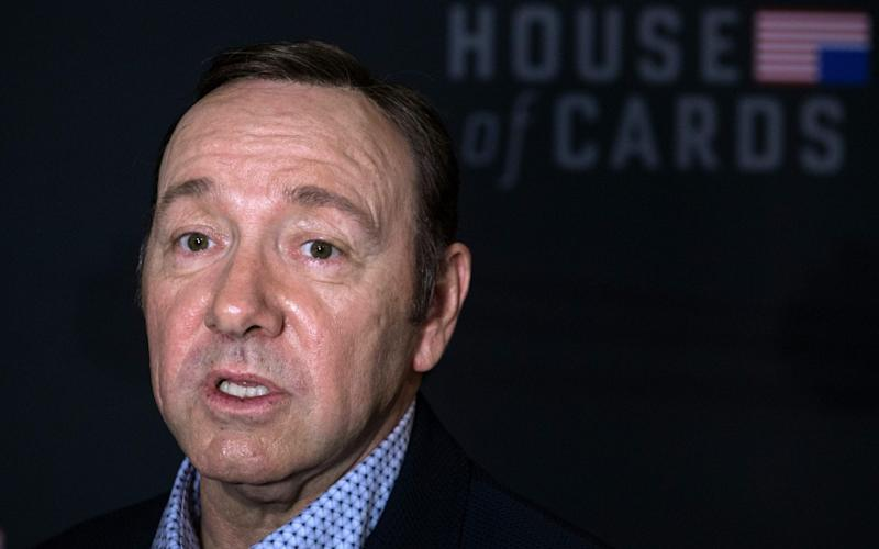 Kevin Spacey accused of assault by third man in London - AFP