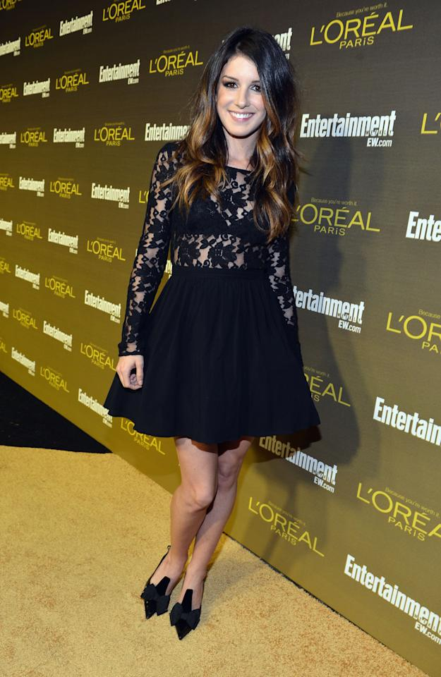 WEST HOLLYWOOD, CA - SEPTEMBER 21:  Actress Shenae Grimes attends The 2012 Entertainment Weekly Pre-Emmy Party Presented By L'Oreal Paris at Fig & Olive Melrose Place on September 21, 2012 in West Hollywood, California.  (Photo by Alberto E. Rodriguez/Getty Images for Entertainment Weekly)