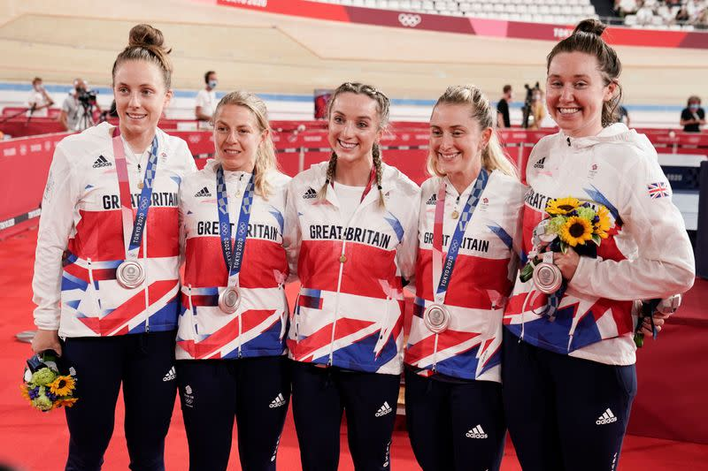 Olympics: Cycling - Track Aug 3