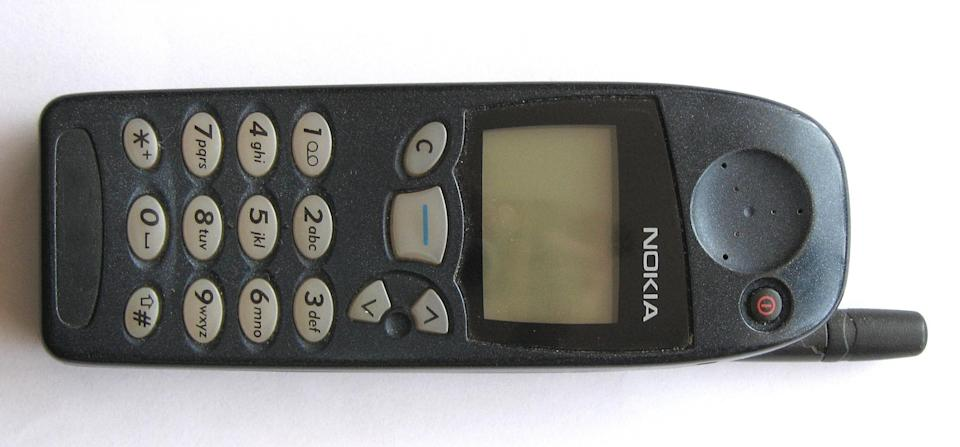 <p>This was one of the first handsets to feature the hugely popular Snake game. It was also the phone that kicked off the trend for interchangeable covers in a wide range of designs. First launched in 1998, it was eventually discontinued in 2001. (Wikipedia) </p>
