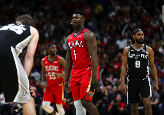 Zion Williamson had an NBA debut to remember. (Derick E. Hingle/Reuters)
