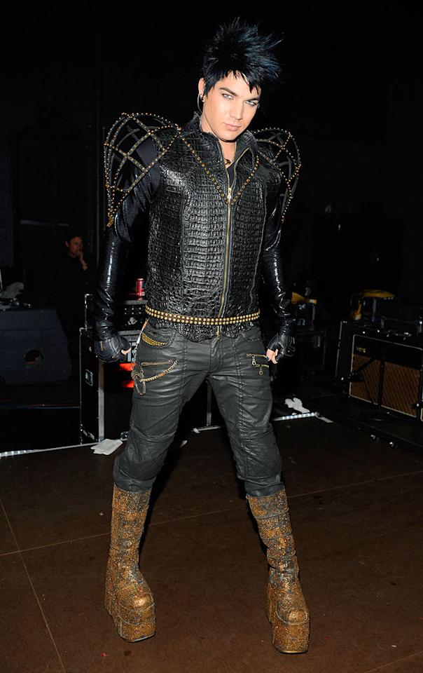 "Once the hoopla surrounding Adam Lambert's runner-up finish on the 8th season of ""American Idol"" subsided, the glam rocker put the gay rumors to rest when he confirmed his sexual orientation in a <i>Rolling Stone</i> cover article. F Micelotta/<a href=""http://www.gettyimages.com/"" target=""new"">GettyImages.com</a> - May 20, 2009"